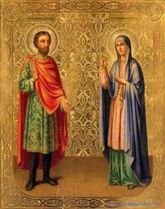 8 сентября - день памяти мучеников Адриана и Наталии